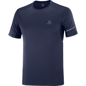 Salomon Agile Camiseta Manga Corta Hombre, night sky